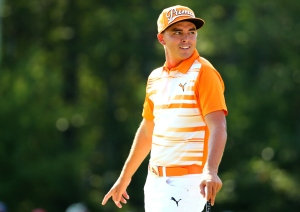 NORTON, MA - SEPTEMBER 07:  Rickie Fowler stands on the sixth green during the final round of the Deutsche Bank Championship at TPC Boston on September 7, 2015 in Norton, Massachusetts.  (Photo by Maddie Meyer/Getty Images)